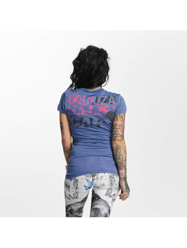 Yakuza Damen T-Shirt Care in violet