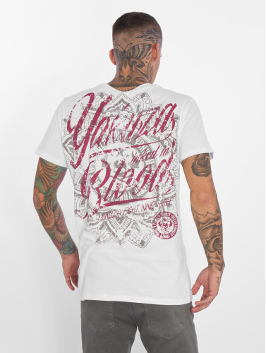 Yakuza Herren T-Shirt Inked in Blood in weiß