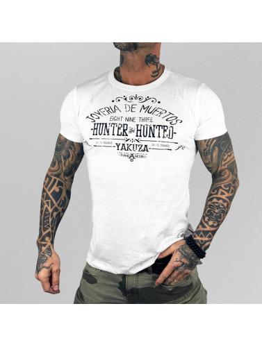 Yakuza Herren T-Shirt Hunter And Hunters in weiß