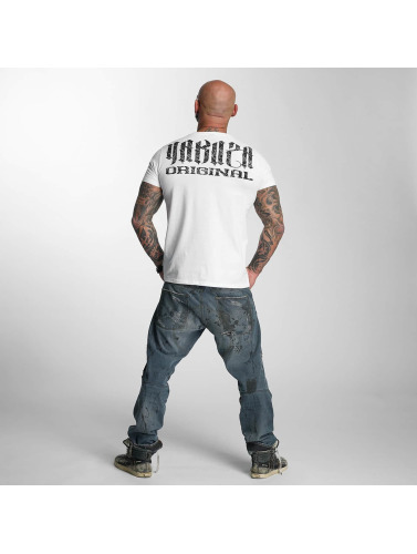 Yakuza Herren T-Shirt Blow It Out in weiß