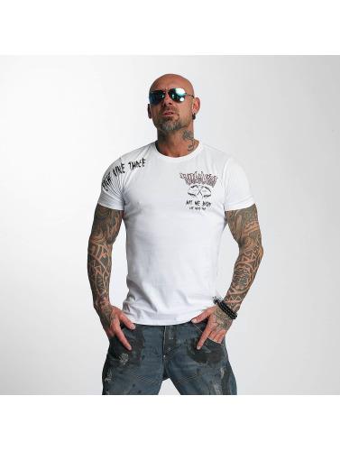 Yakuza Herren T-Shirt Hit Me in weiß