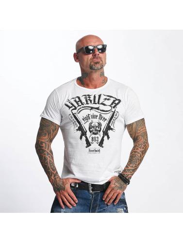 Yakuza Herren T-Shirt Armed Society in weiß