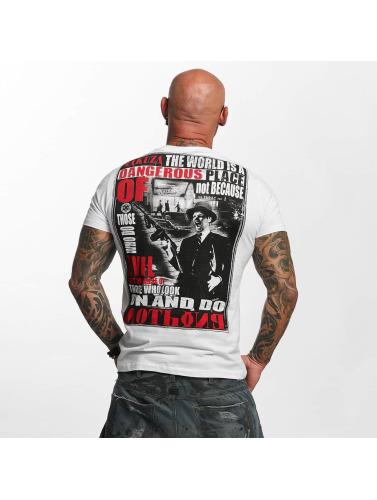 Spielraum Komfortabel Freies Verschiffen Finish Yakuza Herren T-Shirt Dangerous Place in weiß WFOQk