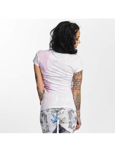 Auslass Zahlung Mit Visa Billig Besuch Yakuza Damen T-Shirt Unicorn in weiß 3prni