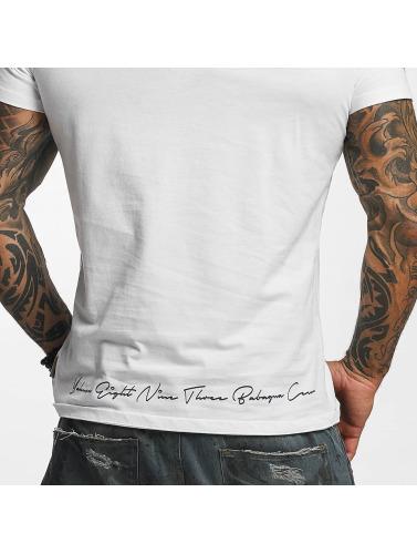 Yakuza Herren T-Shirt Daily Skull in weiß