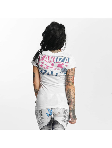 Yakuza Damen T-Shirt Care in weiß