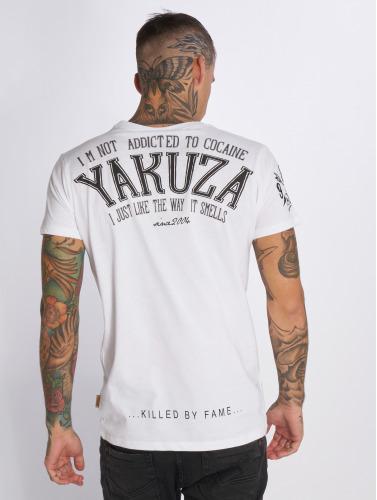 Yakuza Herren T-Shirt Addicted in weiß