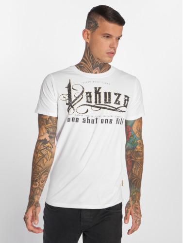 Yakuza Herren T-Shirt One Shot in weiß