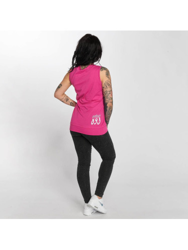 Yakuza Mujeres Tank Tops Drug Dealer in fucsia