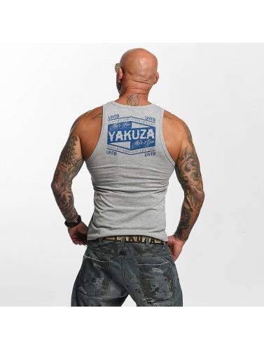 Yakuza Herren Tank Tops Untd in grau