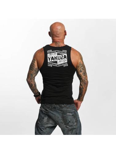 Yakuza Hombres Tank Tops Untd in negro
