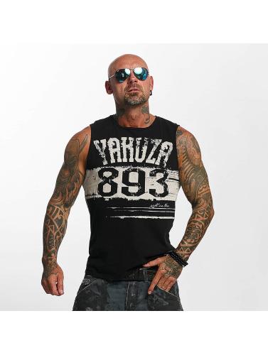 Yakuza Herren Tank Tops Yent Trucker in schwarz