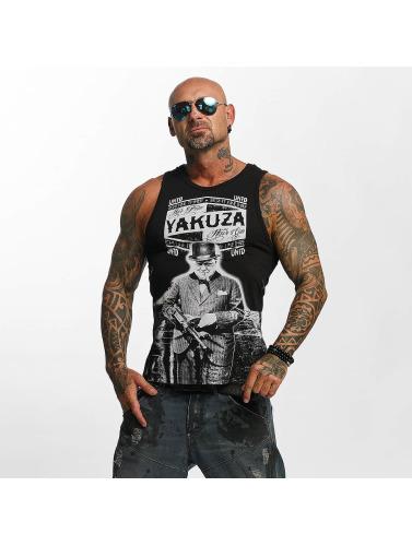 Yakuza Herren Tank Tops Untd in schwarz