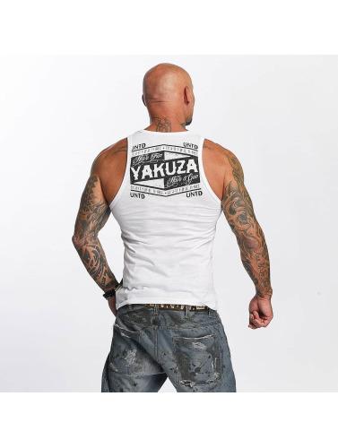 Yakuza Herren Tank Tops Untd in weiß