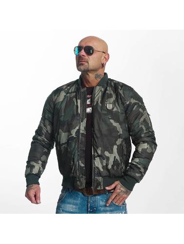 Yakuza Herren Übergangsjacke Sicario in camouflage