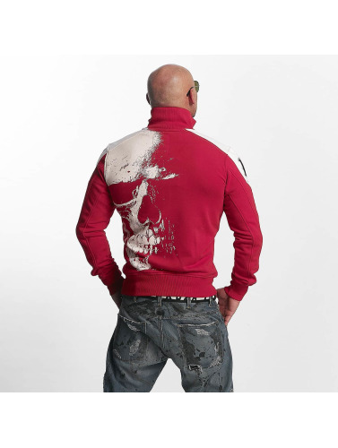 Yakuza Herren Übergangsjacke Skull in rot Spielraum hsI6nFyVp