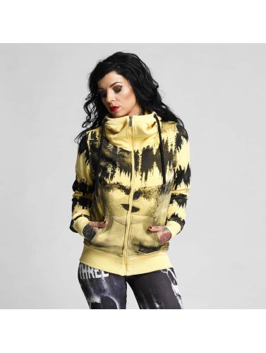 Günstig Kaufen Beliebt Billig Verkauf Rabatt Yakuza Damen Zip Hoodie Voices in gelb Billig Verkauf Verkauf Sie Günstig Online UL3lnEWIQa