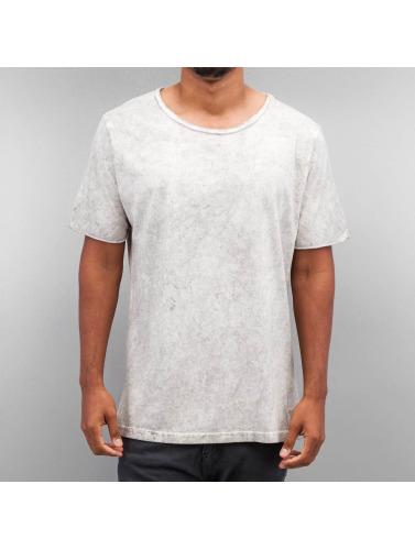 Yezz Hombres Camiseta Marble in gris