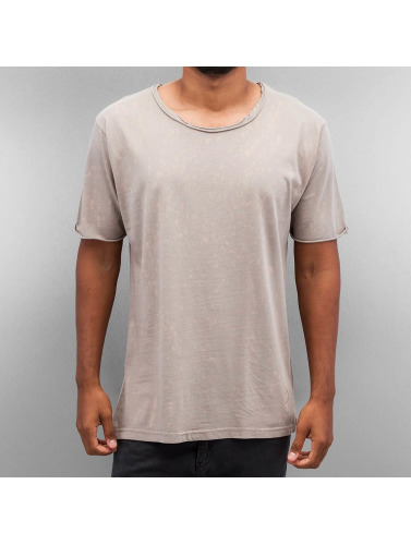Yezz Hombres Camiseta Splash in gris
