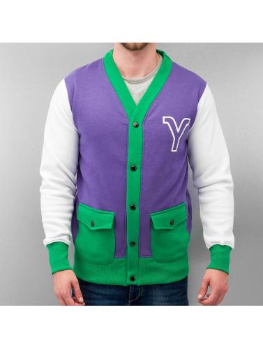 Yezz Herren College Jacke Manana in violet