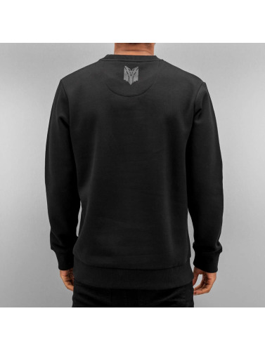 Yezz Hombres Jersey Lion in negro