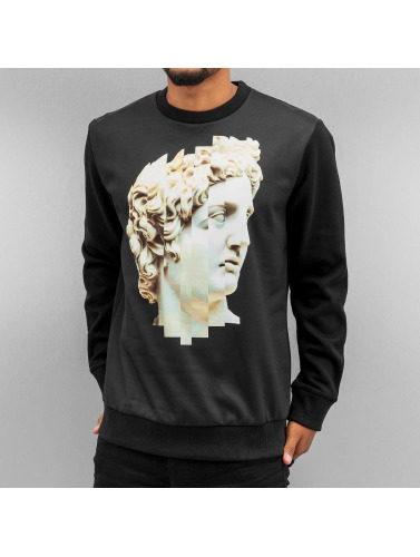 Yezz Hombres Jersey Stature in negro