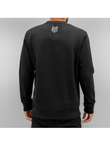 Yezz Herren Pullover Sea Eagle in schwarz