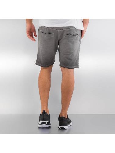 Yezz Herren Shorts Terry Oil in grau