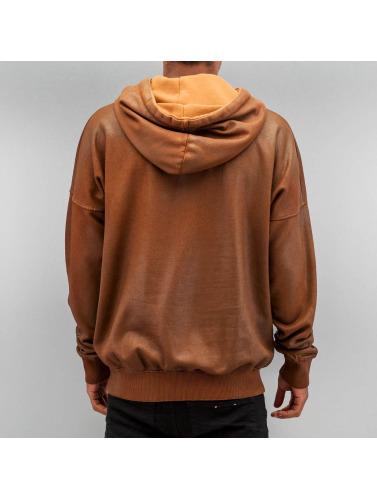 Yezz Hombres Sudadera Brok in marrón