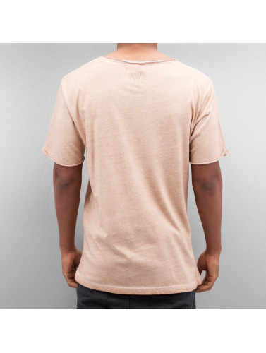 Yezz Herren T-Shirt Dayed in beige