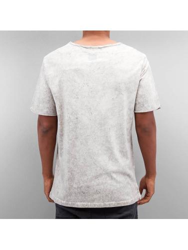 Yezz Herren T-Shirt Marble in grau