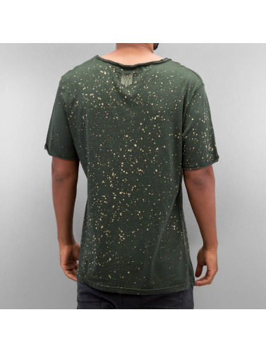 Yezz Herren T-Shirt Dots in olive