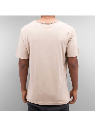 Yezz Herren T-Shirt Bleched in rosa