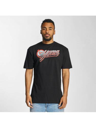 Yums Herren T-Shirt Wild Splatter in schwarz