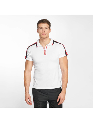 Zayne Paris Hombres Camiseta polo Polo in blanco