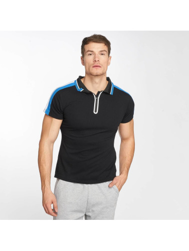 Zayne Paris Hombres Camiseta polo Pete in negro