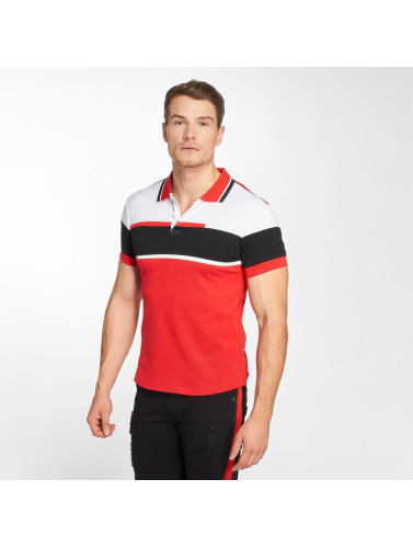 Zayne Paris Hombres Camiseta polo Pete in rojo
