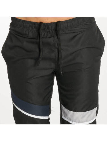 Zayne Paris Herren Shorts Stripe in schwarz