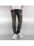 2Y Облегающие джинсы Washed синий