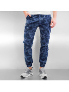 2Y Funchal Antifit Jeans Blue Camouflage