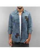 2Y Camicia Colton blu