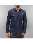 2Y Camicia Trey blu
