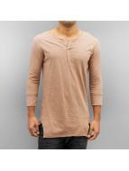2Y Camiseta de manga larga Slough beis