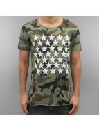 Camo Stars T-Shirt Khaki...