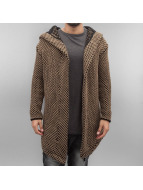 2Y Cardigan Quirin brown