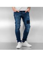 2Y Jean skinny Konstanz bleu