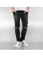 2Y Jean skinny Destroyed noir