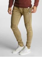 2Y Jeans ajustado Savage caqui