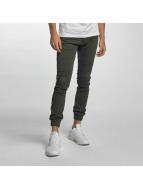 2Y Jeans ajustado Sheffield caqui