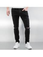 2Y Jeans slim fit Crap nero